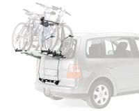 Thule BackPac 973 kerékpártartó hátsó ajtóra szerelve