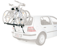 Thule ClipOn High 9106 kerékpártartó hátsó ajtóra szerelve