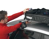 Thule Ranger 90 összehajtható tetőbox rögzítése